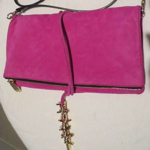 DSQUARED2 Fuschia Shoulder Bag